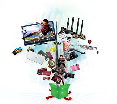 Sony's Gift Basket