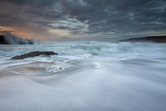 The Sea Was Angry That Day My Friends... (maxxsmart) Tags: ocean california sunset seascape storm rock clouds canon wave rage lee pointreyes seinfeld soaked mcclures gnd 5dmarkii headedtoptlobos
