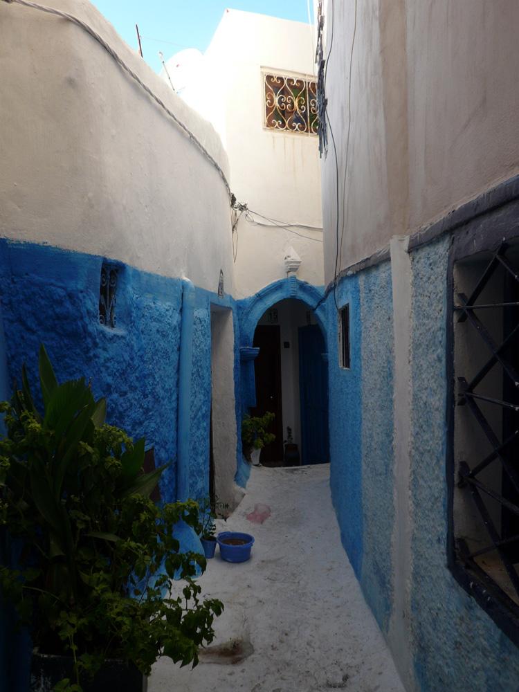 Callejón de la Casbah de los Udayas