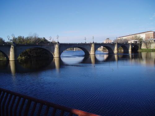 Puente de Pidra sobre el Río Ebro