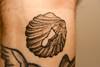 Seashell Tattoo Merry Christmas, Jenni.