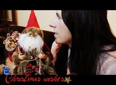 Santa, I have to tell you... (lanamorvai24) Tags: santa christmas face navidad whisper cara profile noel carol santaclaus wish natale faccia papanoel santaandme deseos prefil desideri digitalcameraclub