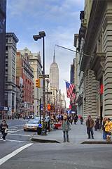 East 18th Street (MigRodz) Tags: newyork blackbox empirestatebuilding nikon1855mm nikond80
