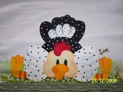 ADORO GALINHASSSSSSS (Laine.Guga) Tags: country em pintura tecido