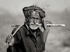 A Shepherd at Banni