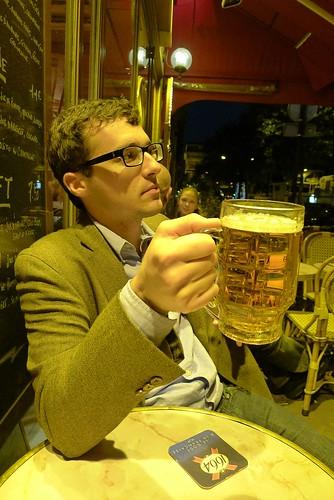 Stephen at Paris Cafe