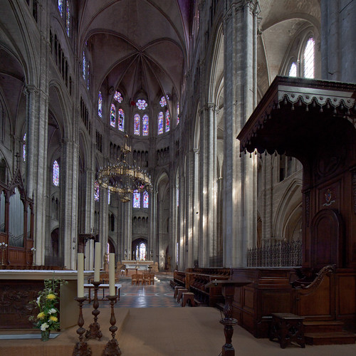 Bourges Cathedral - The Choir