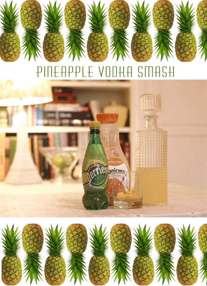 Pineapple Vodka Cocktail Recipe