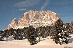 (claudiophoto) Tags: italy snow alps alpi dolomites italianalps dolomiti valgardena dolomiten blinkagain