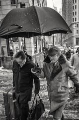 Fifth Avenue. (Roy Savoy) Tags: bw blackandwhite streetphotography street nyc monochrome people roysavoy newyorkcity newyork blacknwhite streets streettog streetogs ricoh gr2 candid flickr explore candids city photography streetphotographer 28mm nycstreetphotography gothamist tog mono flickriver snap digital monochromatic blancoynegro
