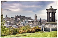 Edinburgh (nouailleric) Tags: ecosse scotland edimbourg edinburgh cityscape calton hill canon eos 500d voyage travel