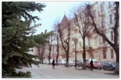 Grushevskogo Str. (Hohenlohe-Gasse). Chernivtsi, Ukraine. (Ігор Кириловський) Tags: grushevskogostr hohenlohegasse slr fujica stx1 xfujinon ebc 50mm f16 film kodak colorplus 200 chernivtsi ukraine