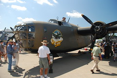 DSC_0151 B-24 Liberator  Ol' 927 (kurtsj00) Tags: 2008 liberator b24 eaa oshkosh airventure ol927