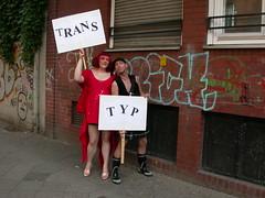 Trans-Typ (Michelle Foocault) Tags: gay berlin kreuzberg trans csd transsexual neukölln transgenialercds