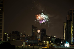 (CMMooney) Tags: nyc newyorkcity night nikon fireworks manhattan hudsonriver hellskitchen midtownwest prideweekend flickrshop d5000