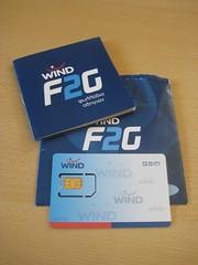 Wind Prepaid-Karte F2G