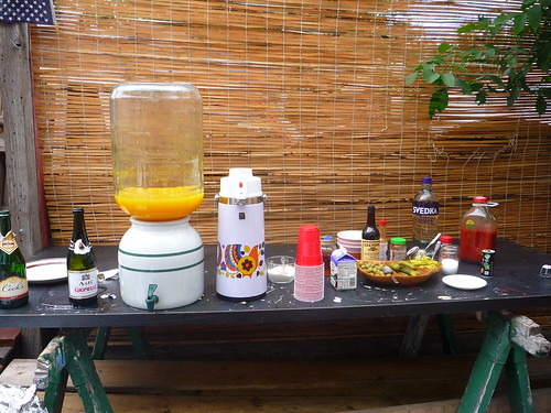 mimosa and bloody mary bar