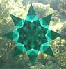Green Christmas Star