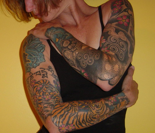 Self-Portrait with Tattoo Sleeves - Member's Choice winner!