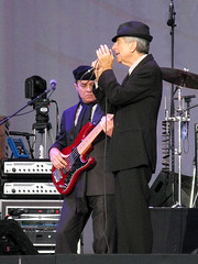 Leonard Cohen Concert (First half), Weybridge, 11 July 2009