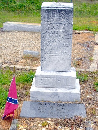 Grave of Mariah Powell