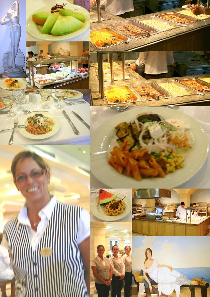 Lindos Princess hotel and restaurant 2009