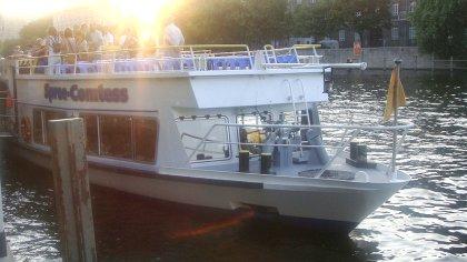 Bootsfahrt auf der Spree