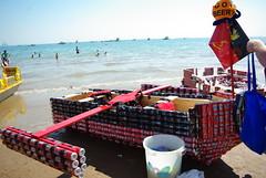 Darwin Beer Can Regatta boat (lisa_dp) Tags: darwin beaches watercraft northernterritory waterbodies mindilbeach darwinbeercanregatta