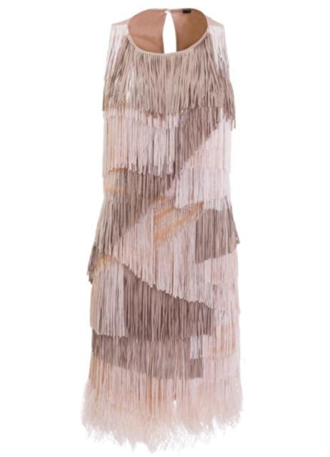 ALESSANDRO DELL´ACQUA SS2009  Fringed dress 4