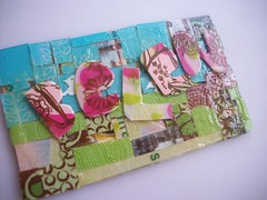 belen (Jupita) Tags: art recycled mosaic craft jewelry starbucks wearableart giftcard repurposed alteredart handcut upcycled starbuckscard jupita