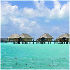 Bora Bora (Z Eduardo...) Tags: blue water clouds island paradise pacific lagoon borabora frenchpolynesia leewardislands platinumheartaward