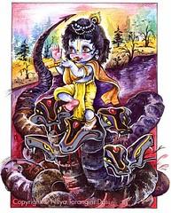 ISKCON desire tree - Kaliya Krishna (ISKCON Desire Tree) Tags: demon krishna radha vrndavana balaram iskcon putana devaki radharani kamsa bakasura aghasura