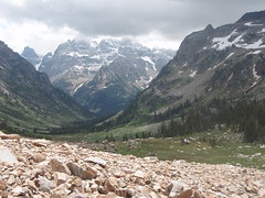 looking back Cascade Canyon (audrey_hagen) Tags: tetons cascadecanyon paintbrushcanyon