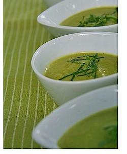 Zucchini Soup - TheMessyBaker.com