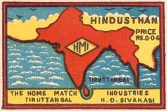 india allumettes 020