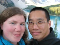 Moraine Lake (alykat) Tags: canada alberta banff banffnationalpark morainelake alysonhurt robpongsajapan