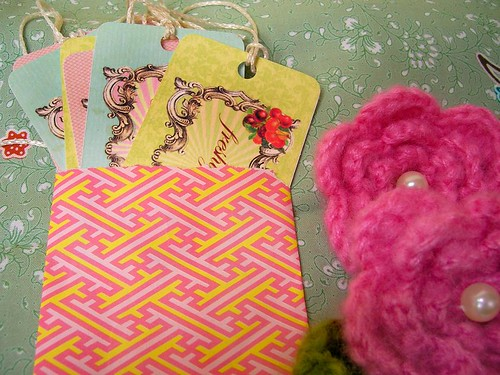 candy colored tags