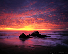 coastal fusion (louie imaging) Tags: ocean sf california from camera sunset sky cliff usa house motion beach its clouds reflections out lens landscape evening inch san francisco glow play dynamic pacific fierce sweet dusk good large 8x10 m velvia coastal baths be sutro fixed format local alive straight fusion length jazzy fiery cliffhouse schneider toyo focal nohdr 8x20 165mm platinumheartaward grouptripod magicunicornverybest