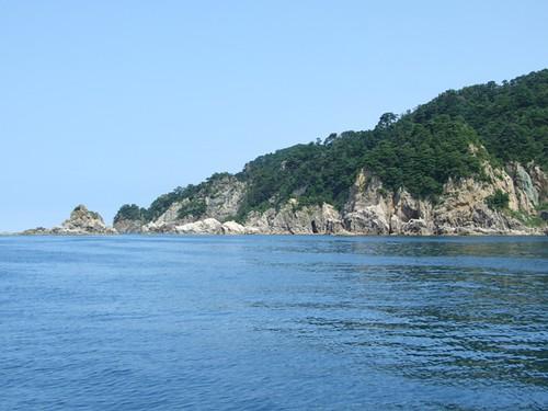 海上から観る陸の景色~笹川流れ