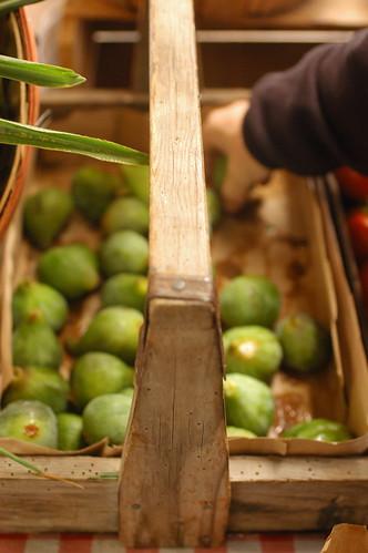 fresh figs on the island