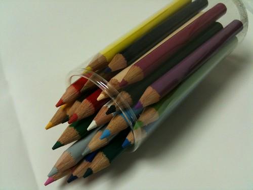 無印良品の色鉛筆