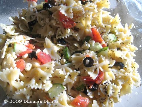 Bow Tie Pasta Salad