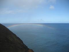 Na Pali Rainbow (colindb) Tags: hawaii napalicoast