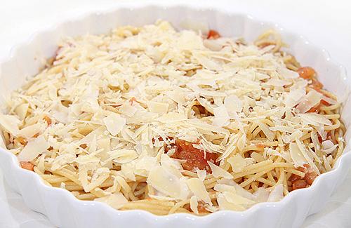 焗烤茄汁 Spaghetti-090910