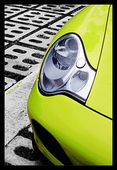 lime-licious (hsalnat) Tags: bw green blackwhite singapore limegreen turbo porsche headlight lime porsche911 porscheturbo rearengine selectivecolors 2doorcoupe porsche966