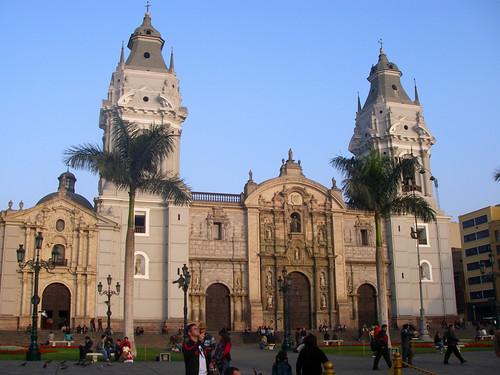 Basillica Cathedral de Lima