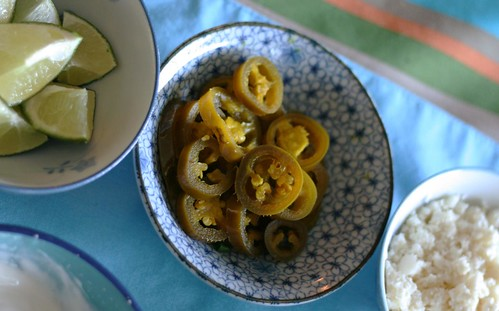pickled jalapenos (which I LOVE in Cuban pork sandwiches, because ...
