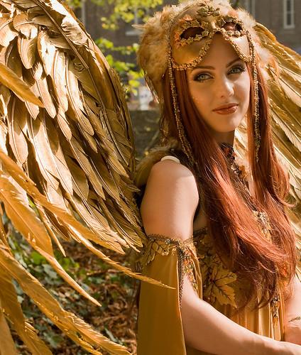 Golden Angel by fotok1952.