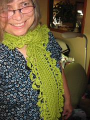 Double Bobble Scarf