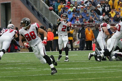 Falcons at Patriots - 9/27/09